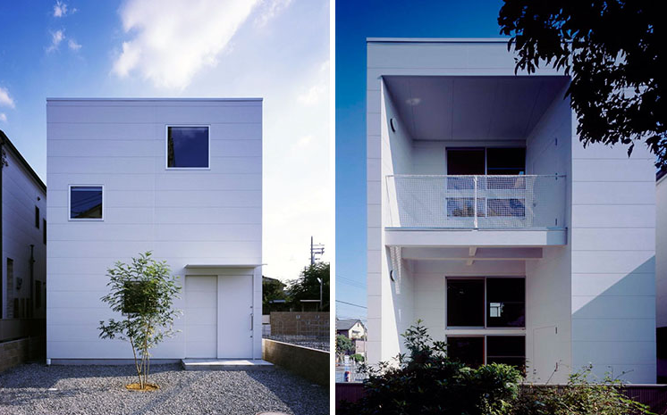 rumah modern sederhana untuk keluarga