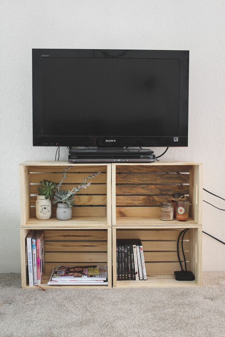Cara Membuat Rak TV Simple