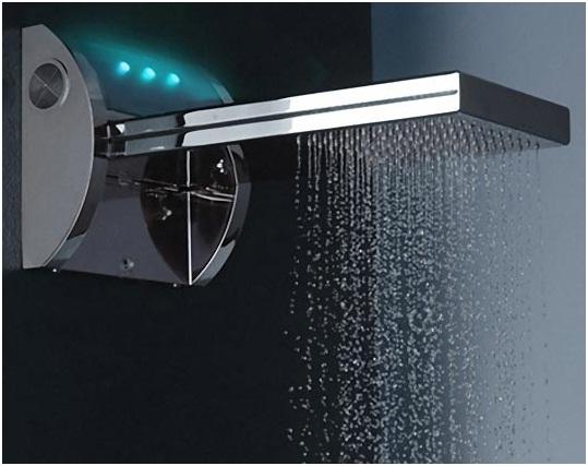 Penggunaan shower menghemat banyak air