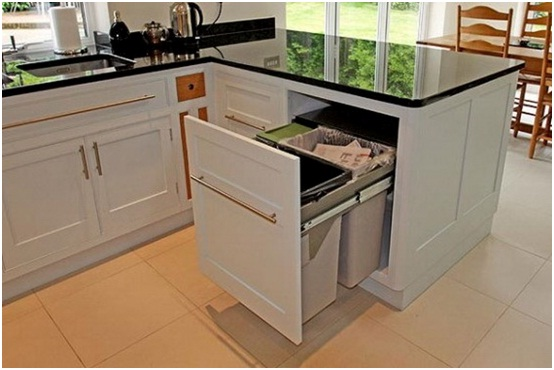 Siapkan tempat sampah organik dan non organik untuk dapur anda
