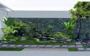 Tips Cara Membuat Taman Depan Rumah Dengan Lahan Sempit