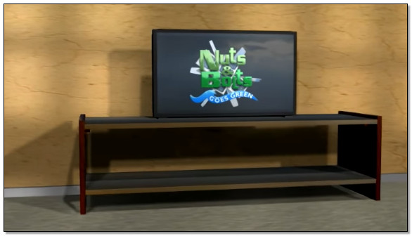 cara membuat rak tv sendiri dengan mudah sederhana