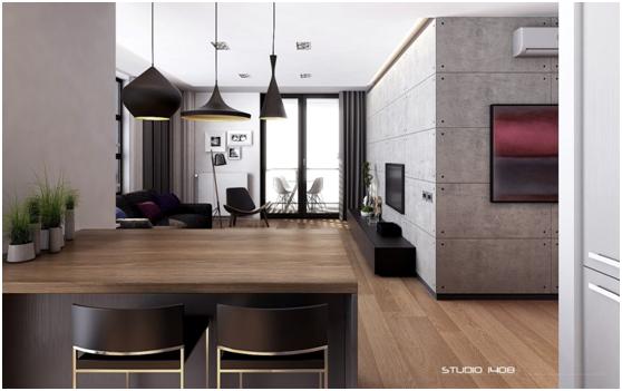 desain apartemen dengan budget terbatas