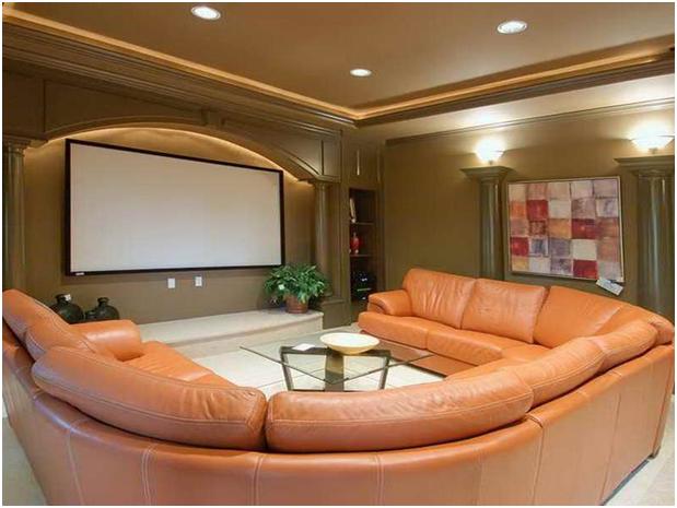 desain konsep ruang hiburan rumah