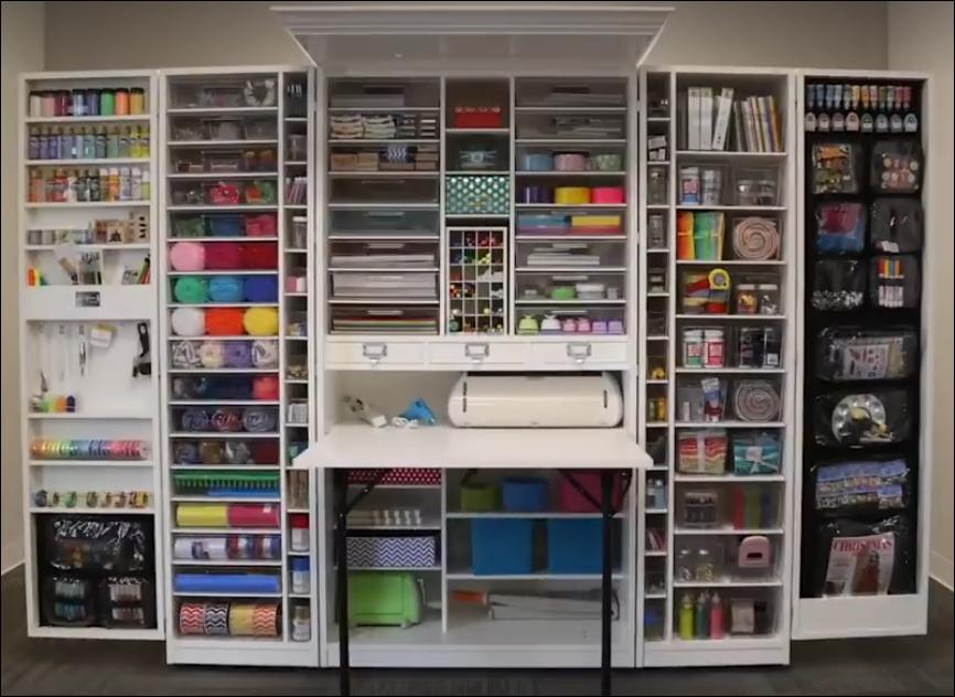 lemari serbaguna yang sangat efisien