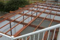 contoh gambar teralis atap belakang rumah