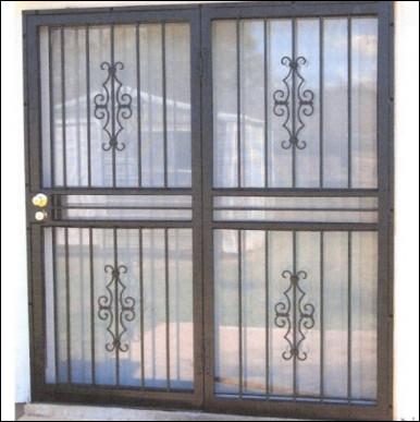 contoh gambar teralis jendela anti maling unik