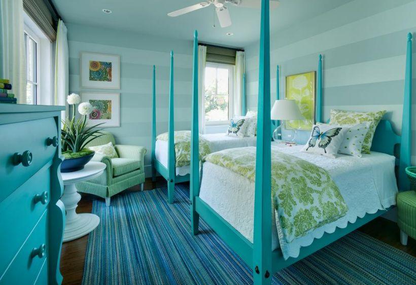 desain keren kamar tidur warna telur asin