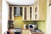 dapur kecil motif kayu