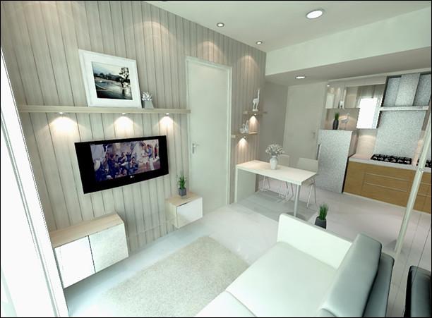 desain ruang tamu untuk keluarga muda