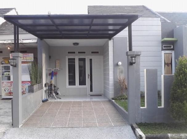 kanopi atap polikarbonat modern minimalis