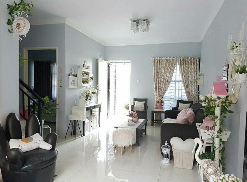 dekorasi interior cantik rumah unik minimalis