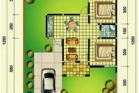 denah rumah 45-125