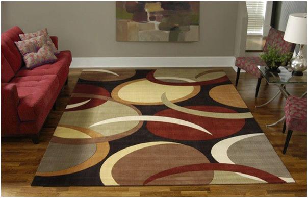 desain karpet yang indah dan cocok untuk ruang tamu