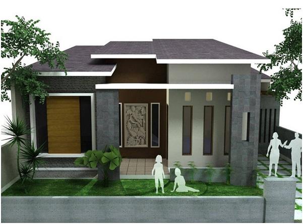 desain rumah cilik menarik