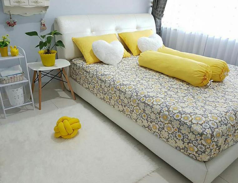 kamar tidur cantik orang tua rumah minimalis