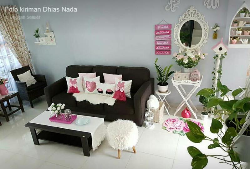 ruang tamu minimalis yang cantik