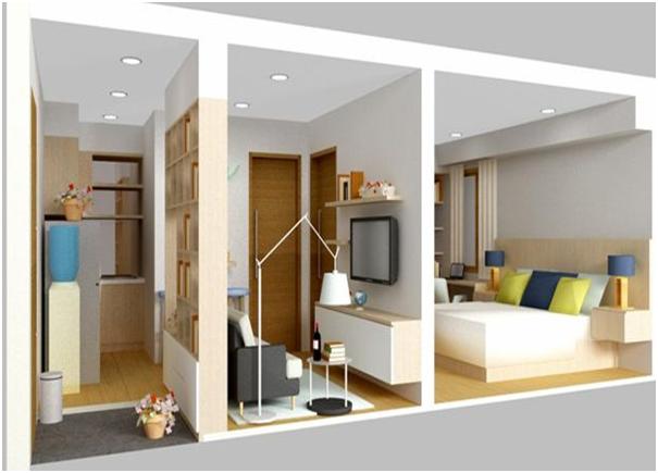 rumah sempit tipe 21 terbaru
