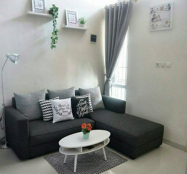 pemakaian wall decor yang keren untuk rumah minimalis