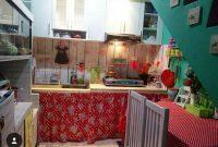 cantiknya gorden kolong dapur