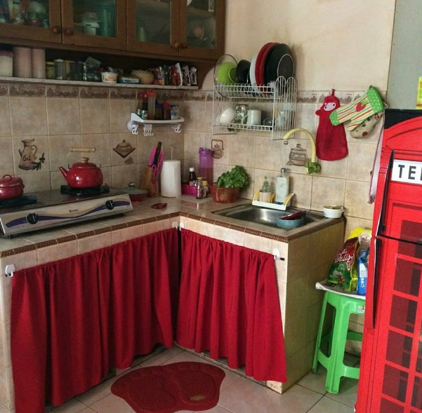 gorden dapur untuk dapur lebih cantik