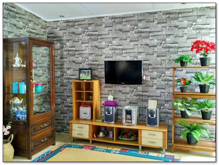 ruang tv hiburan keluarga