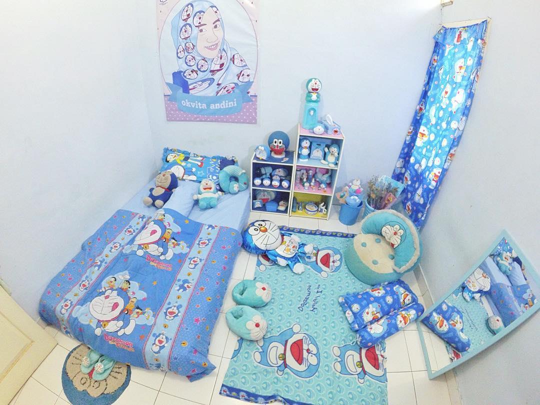 dekorasi kamar kost ruang sempit