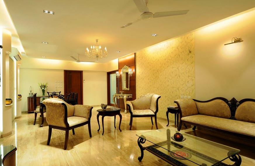 ruang tamu desain klasik kuno kolosal