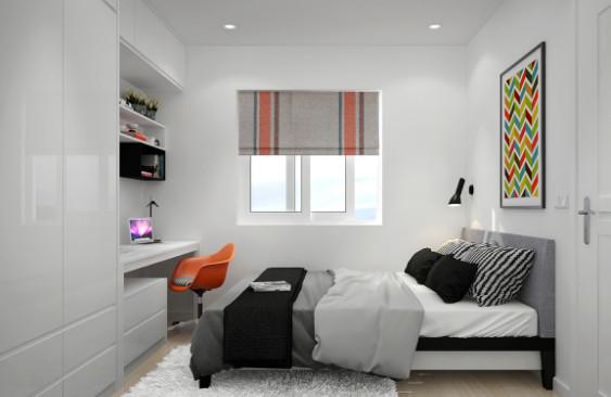 kamar tidur desain minimalis banget