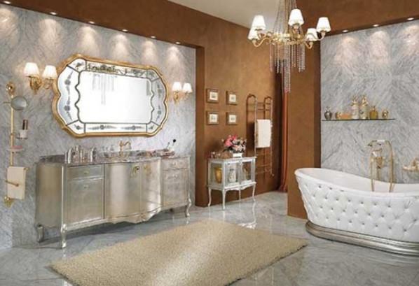 kamar mandi mewah glamor