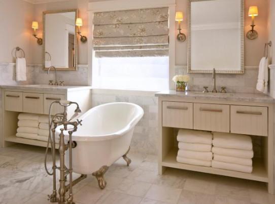Mewahnya kamar mandi glamor