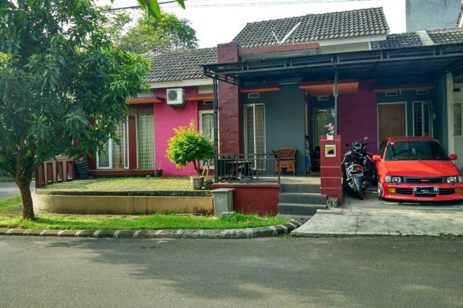 rumah tampak depan - cluster catalina graha raya