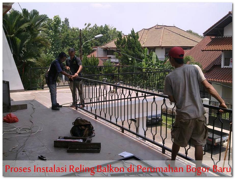 Railing Balkon Minimalis Harga Murah