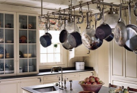 gantungan panci dapur dengan relling besi