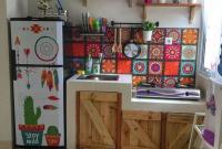 dapur rapi yang kecil istimewa