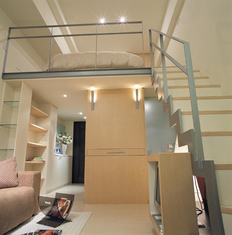 dekorasi mezzanine yang cocok untuk apartemen