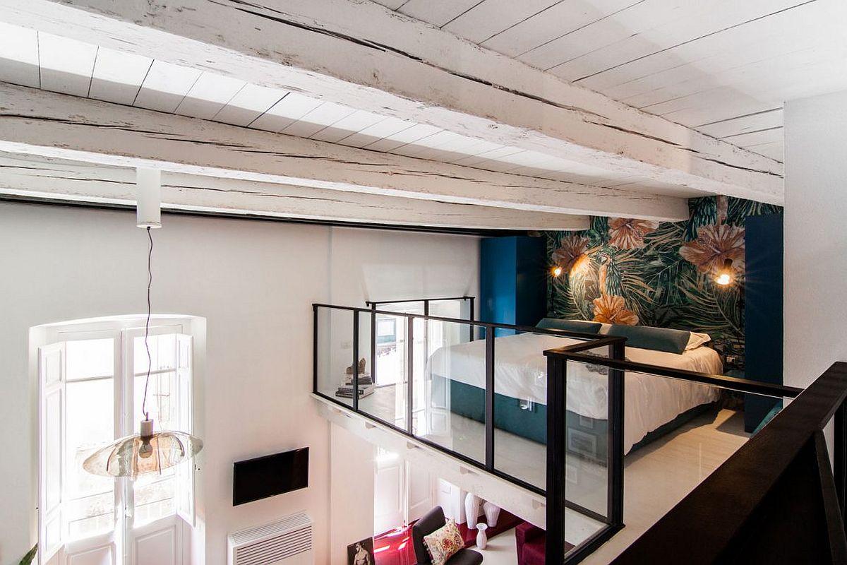 desain mezzanine keren untuk ruang kamar