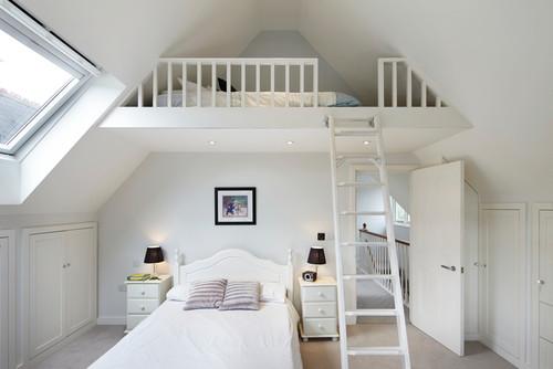 kamar tidur untuk 2 orang anak dengan mezanine