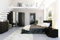 mezzanine putih desain bagus bersih