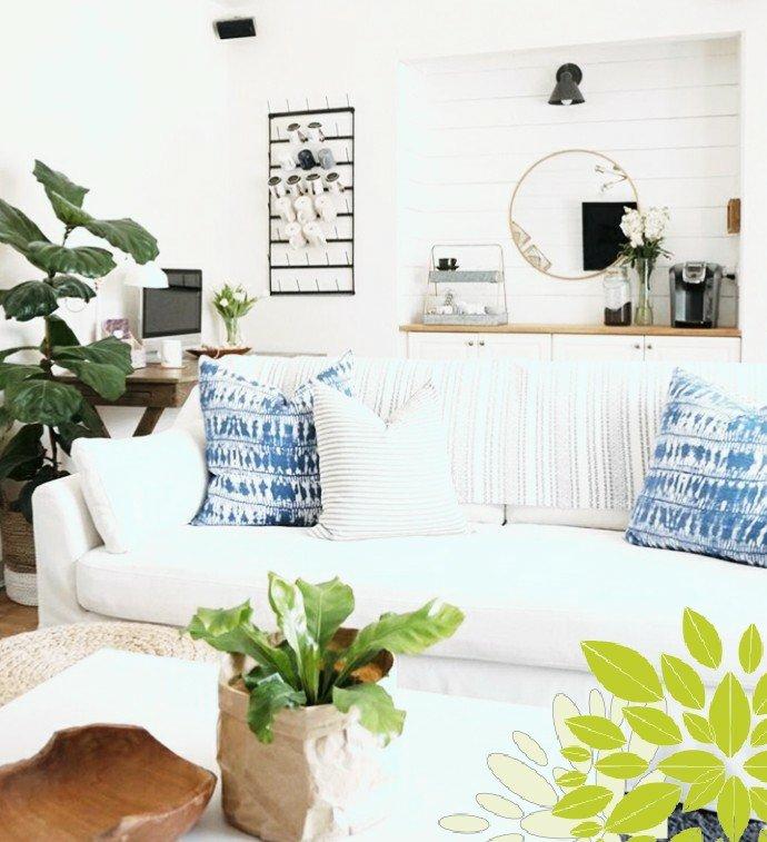 Sofa Keren Panjang yang Luas Cocok Untuk Anggota keluarga Banyak