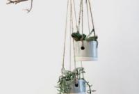 Desain Ranting Gantung Untuk Pot Tanaman dalam Rumah
