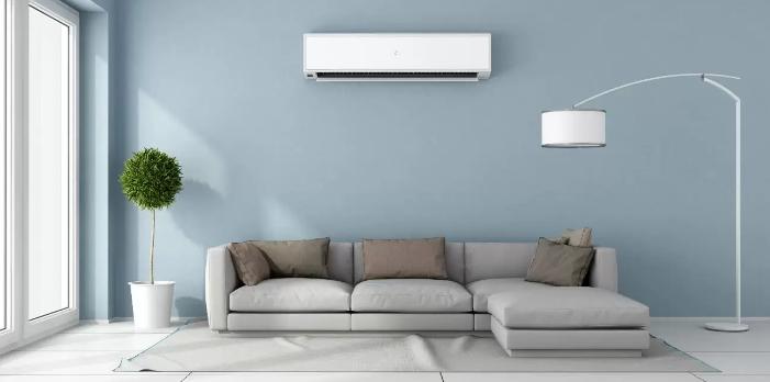 Ruang Tamu atau Living Room dengan AC yang Segar