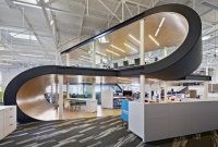 konsep desain ruang kerja kantor modern keren