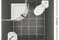 ukuran kamar mandi mini luas 2.5 meter