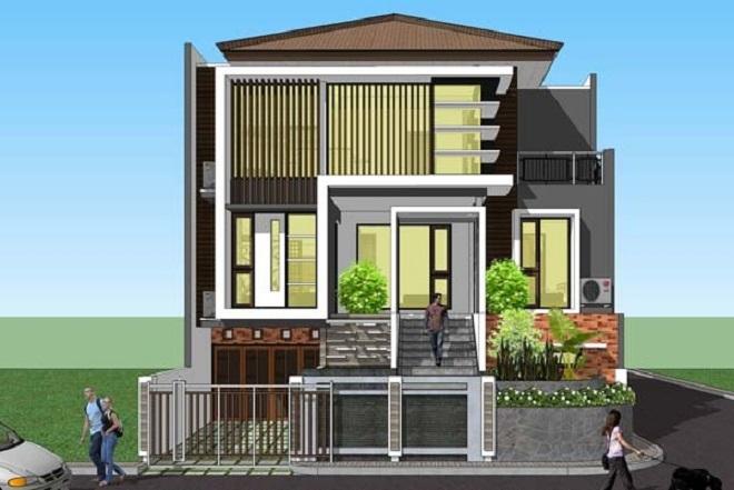 Desain Dan Estimasi Biaya Pembuatan Rumah 3 Lantai1