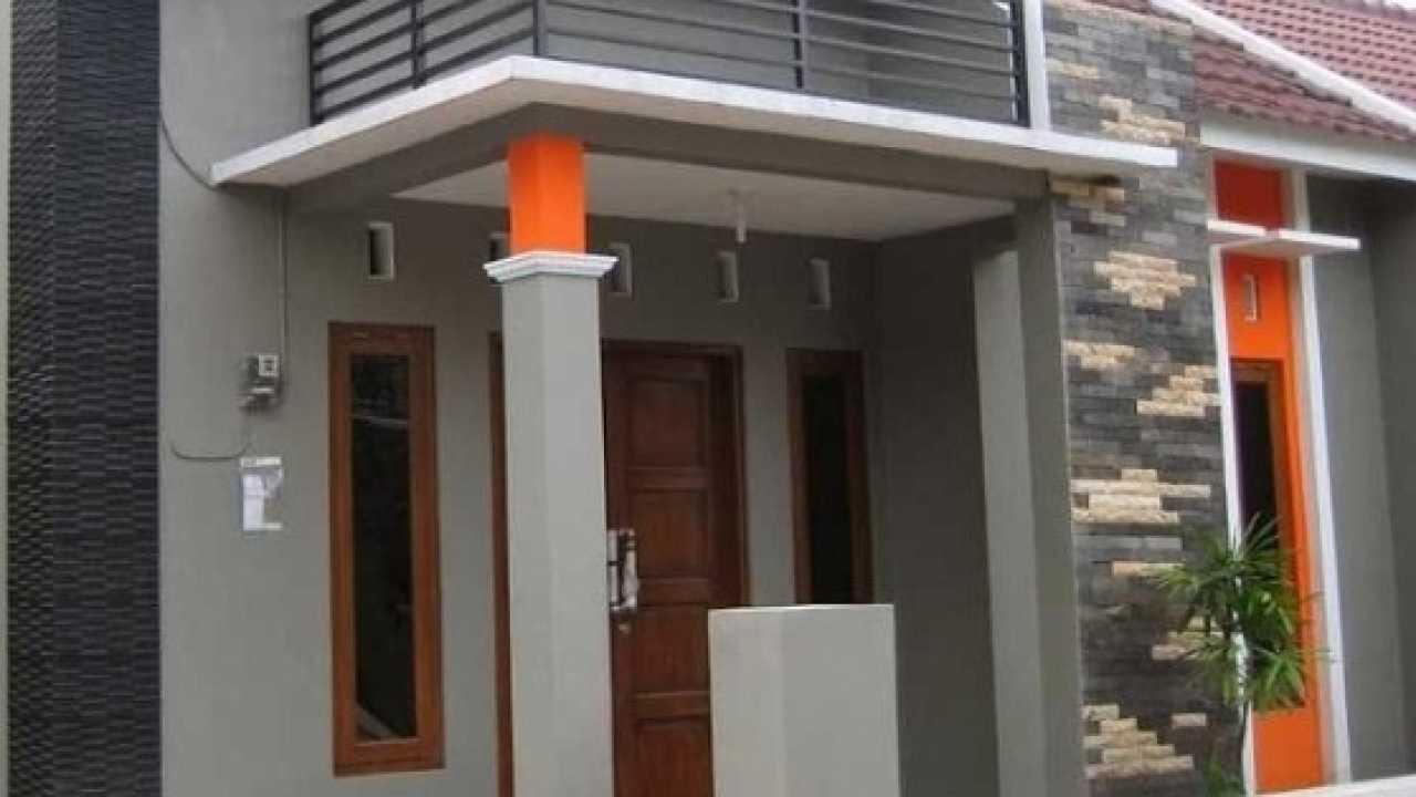 Desain Model Tiang Teras Rumah Minimalis Modern