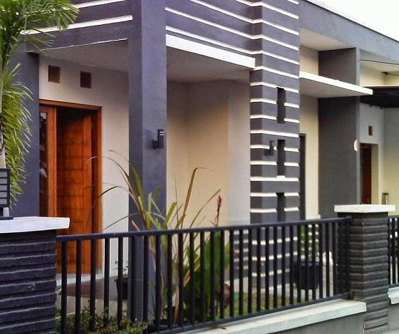 Desain Model Tiang Teras Rumah Minimalis Modern5