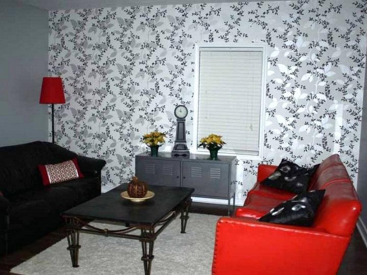 Memilih Desain Wallpaper Ruang Tamu Sesuai Tema Ruangan1