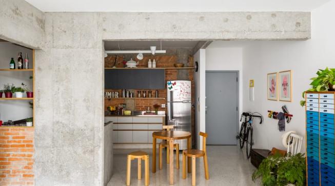 contoh desain rumah belum rampung tapi keren