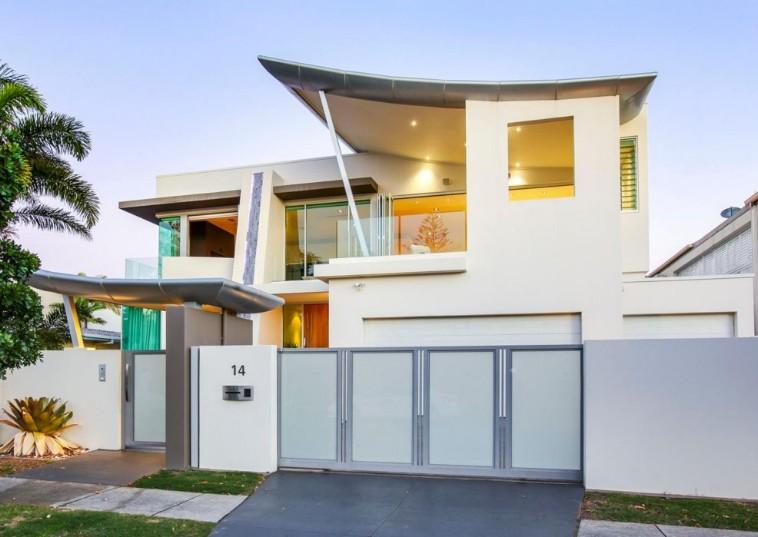 Desain Tampak Depan Rumah Minimalis yang Unik dan Berkarakter